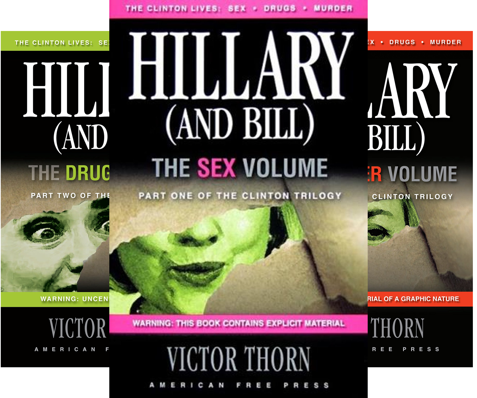 Clinton Trilogy (3 Book Series)