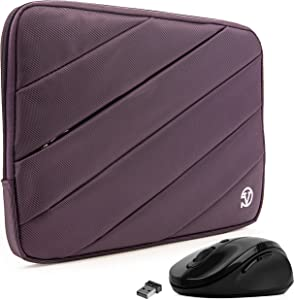 Protective Shock Absorbing Laptop Sleeve Case with Mouse (Purple, 11.6 to 12.5 inch) for Acer Aspire Series, Switch, ChromeBook, Spin 1