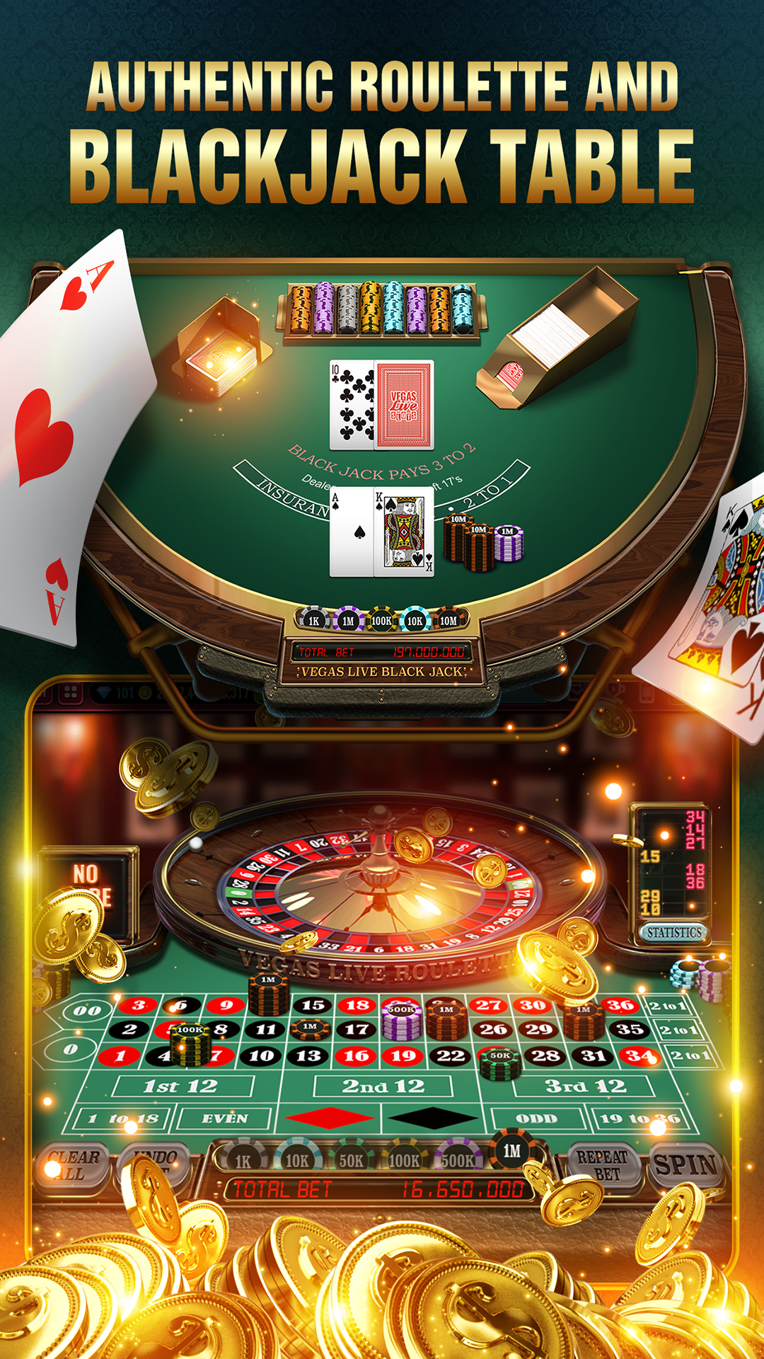 Amazon Com Vegas Live Slots Free Casino Slot Machine Games Appstore For Android