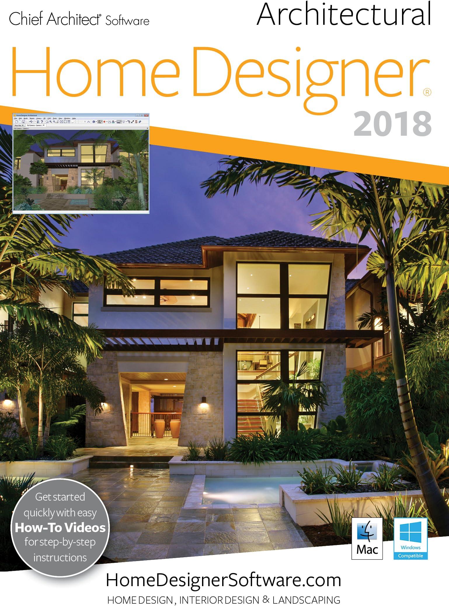 Amazon Com Home Designer Architectural 2018 Pc Download Download Software