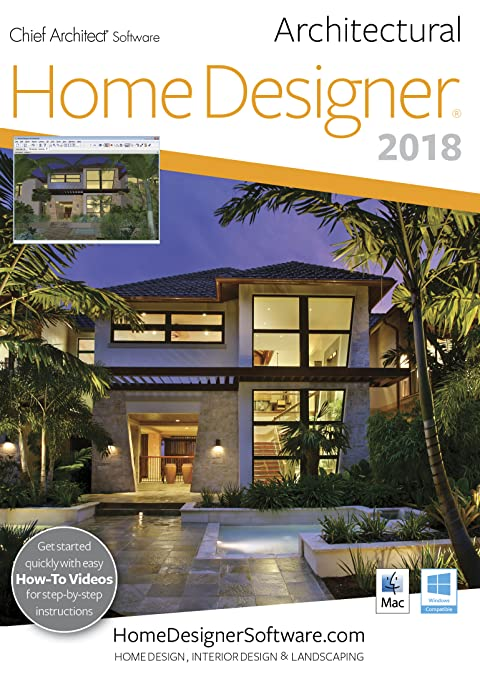 Amazon.com: Home Designer Architectural 2018  PC Download [Download]:  Software