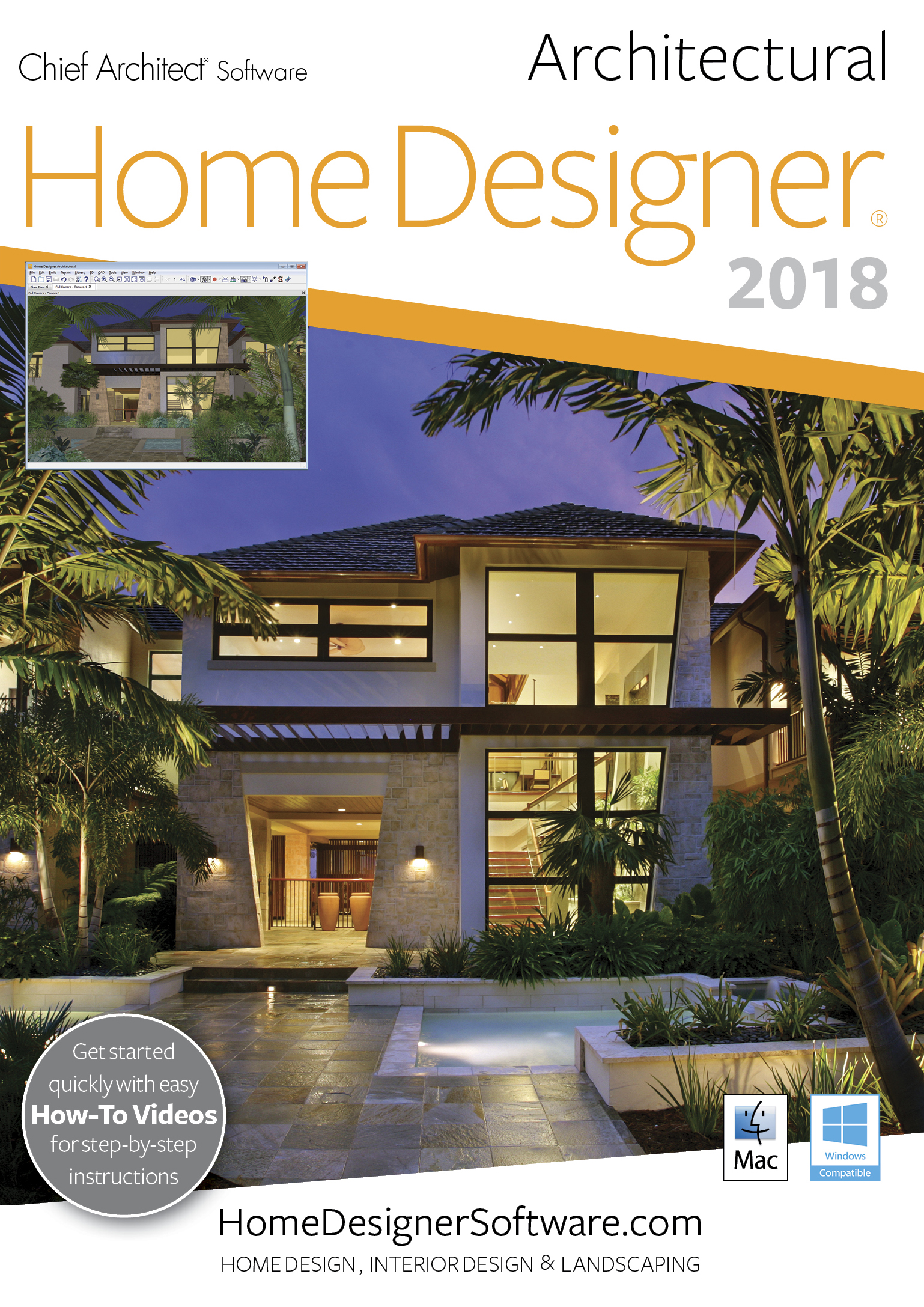 Amazon.com: Home Designer Architectural 2018   Mac Download [Download]:  Software