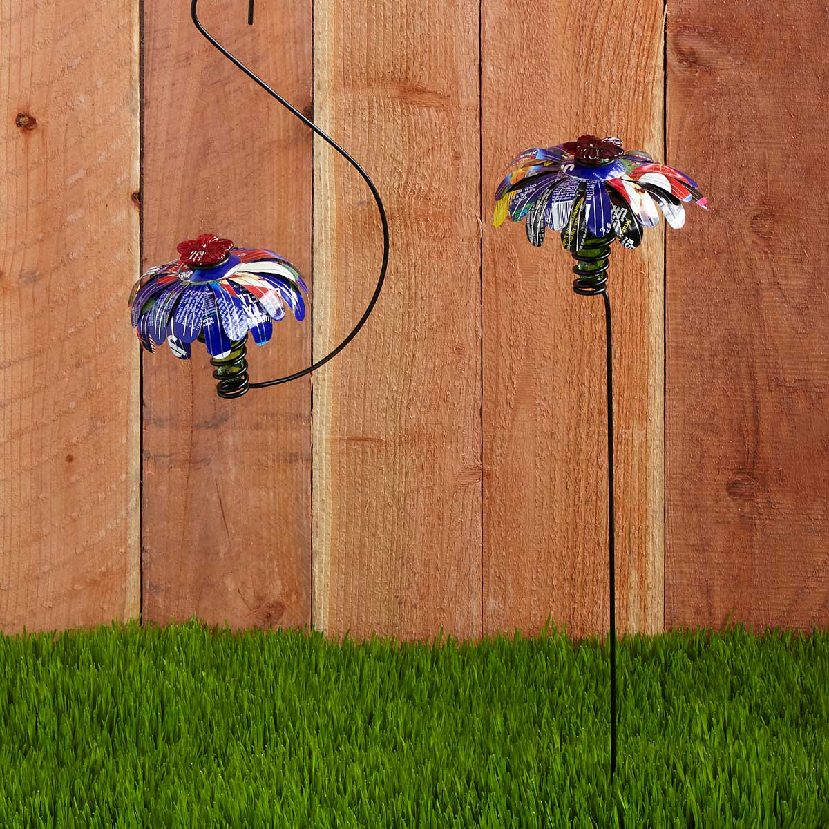 Flower Hummingbird Feeder | recycled design | UncommonGoods