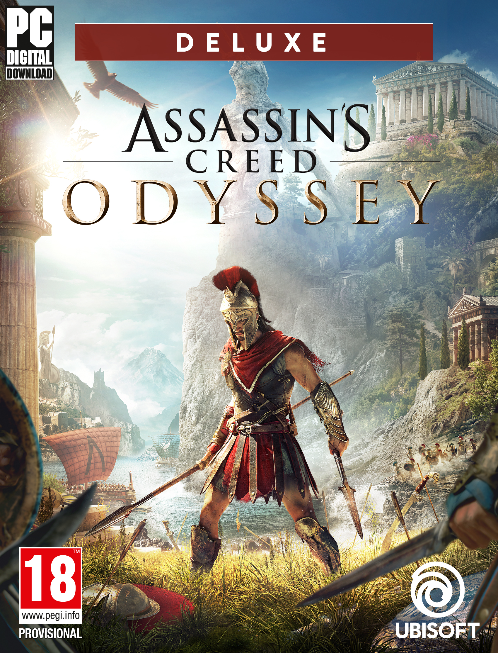 Assassin's Creed Odyssey – Deluxe Edition [PC Code – Ubisoft Connect]