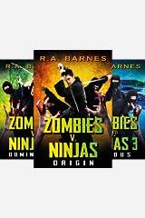 Zombies v. Ninjas (3 Book Series) Kindle Edition