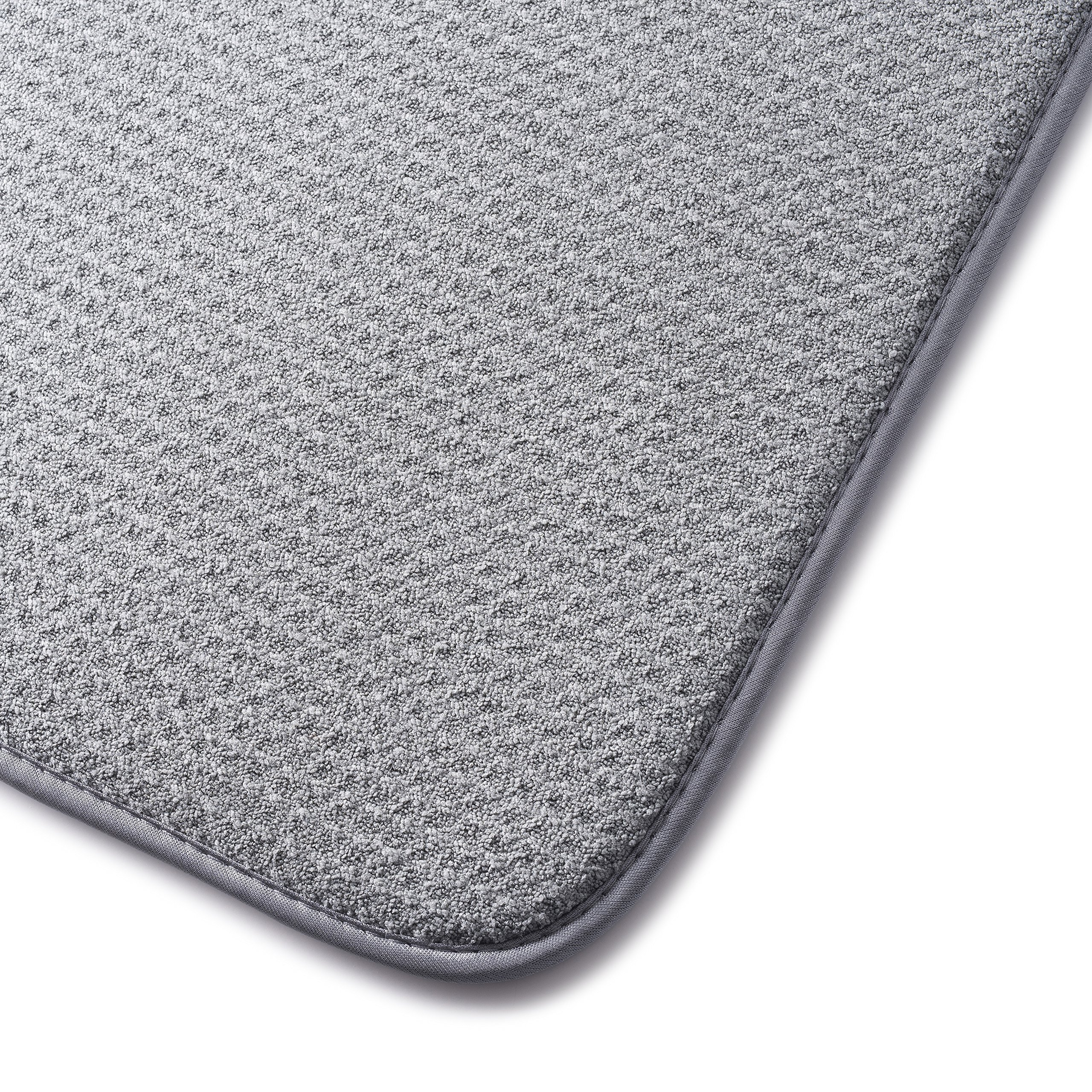 XXL Dish Mat 24'' x 17'' (LARGEST MAT) Microfiber Dish Drying Mat, Super absorbent by Bellemain by Bellemain (Image #6)