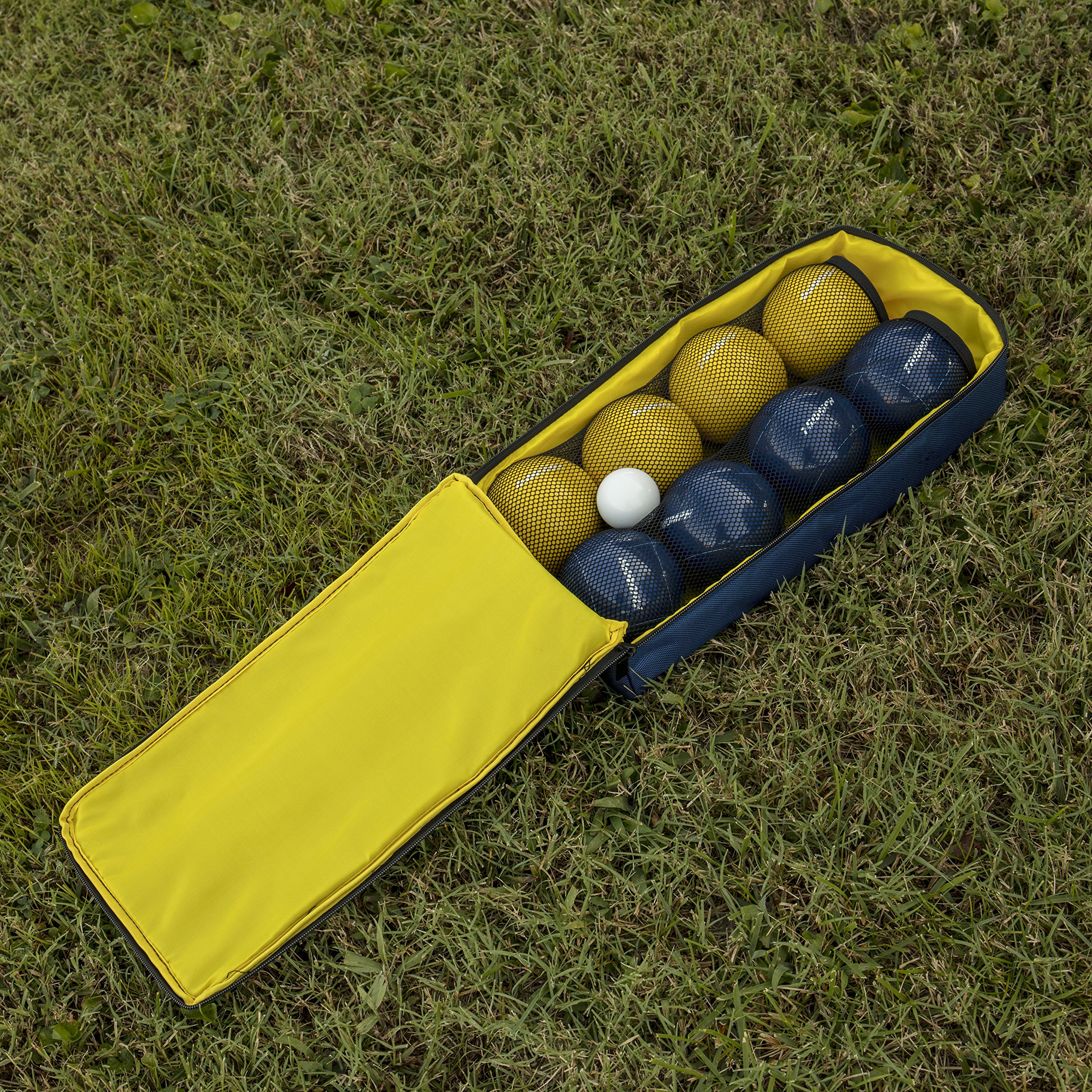 Triumph All Pro 100mm Bocce Set Includes Eight Bocce Balls, One 50mm Jack, and Carry Bag by Triumph Sports (Image #10)