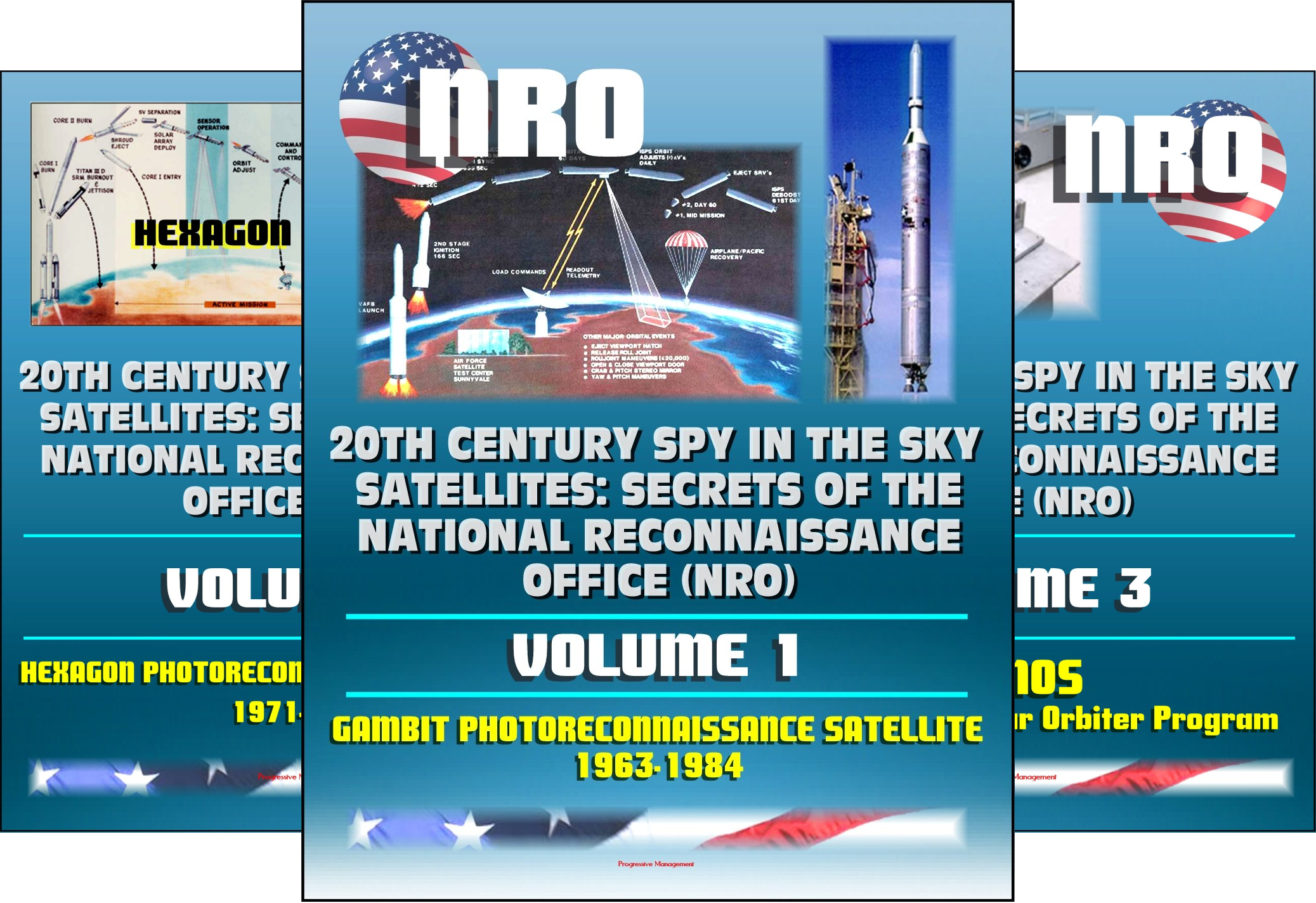 20th Century Spy in the Sky Satellites: Secrets of the National Reconnaissance Office (NRO) (9 Book Series)