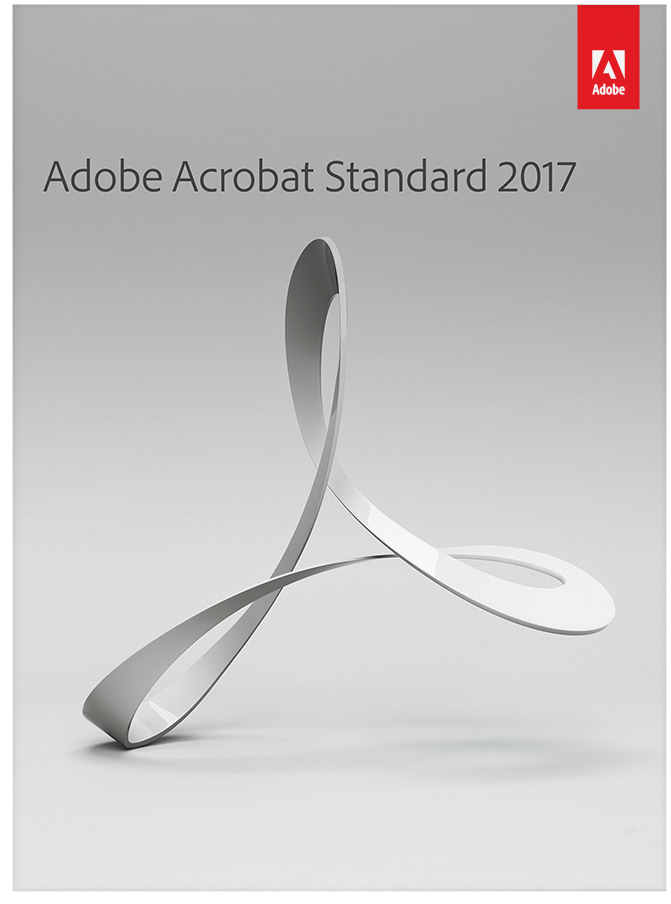 Software : Adobe Acrobat Standard 2017 [Download]
