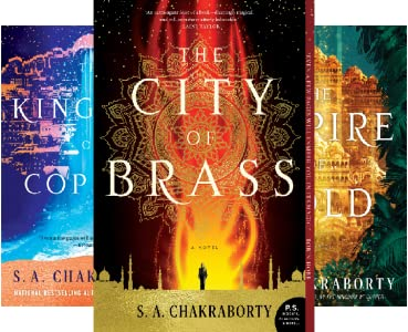 The Empire of Gold by S. A. Chakraborty science fiction and fantasy book and audiobook reviews
