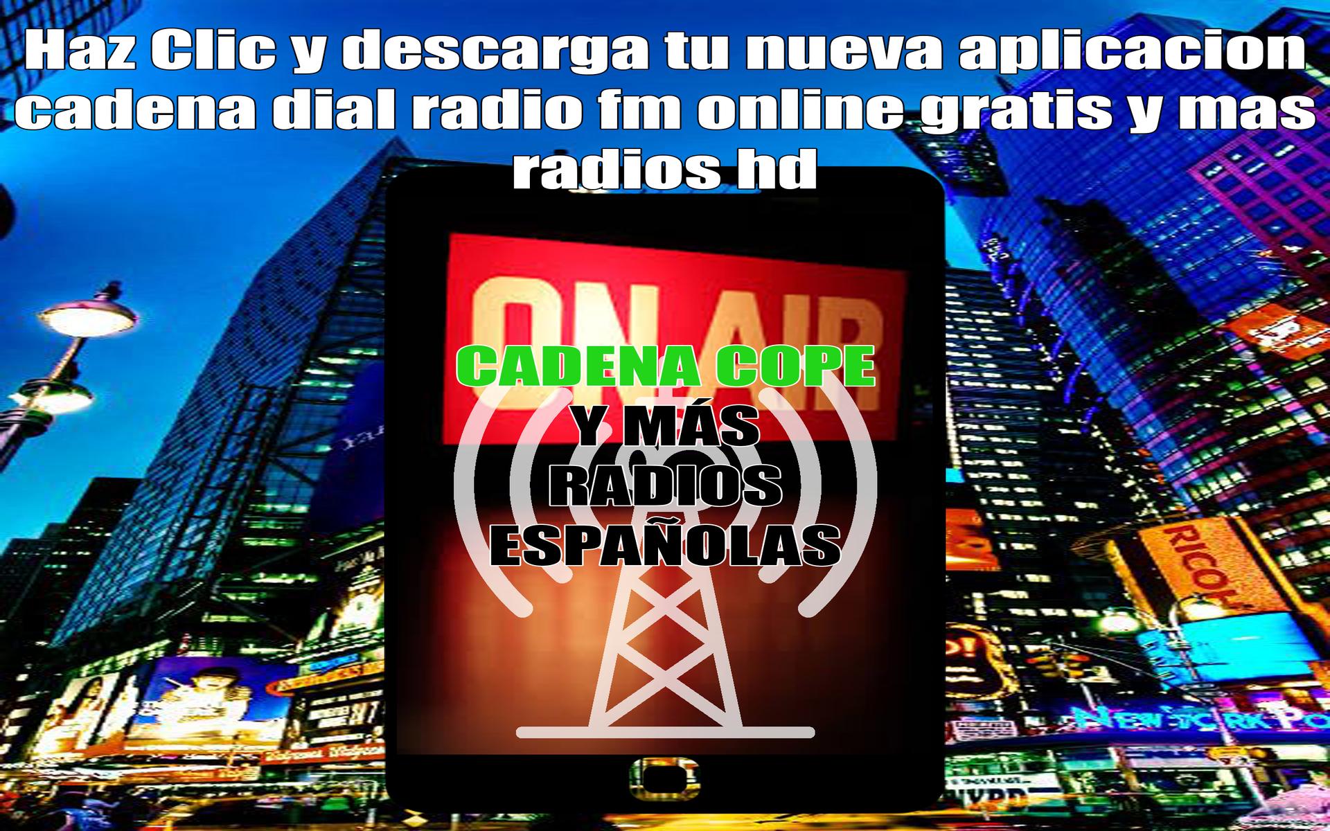 cadena cope radio fm online gratis y mas radios hd