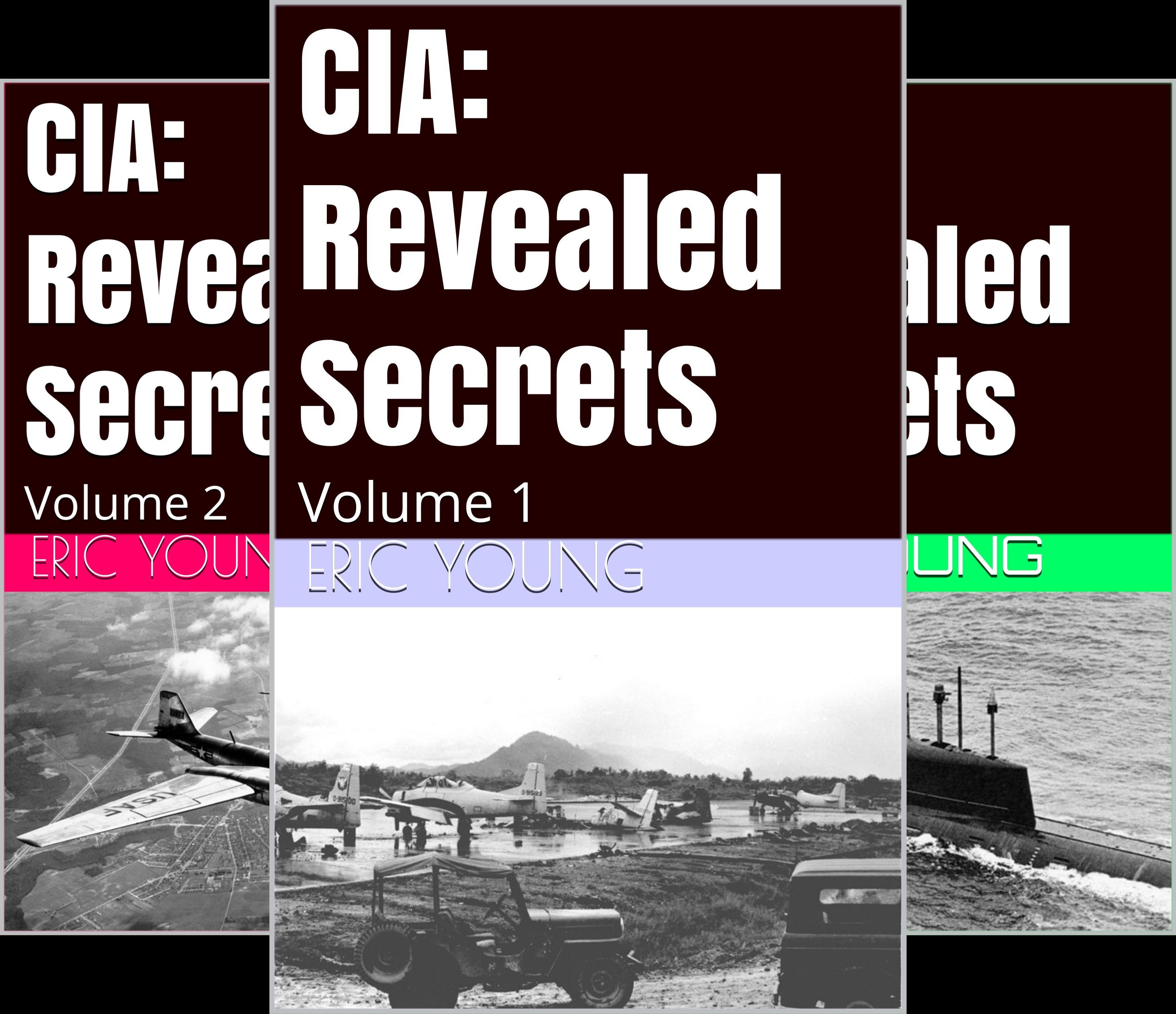 CIA: Revealed Secrets (5 Book Series)