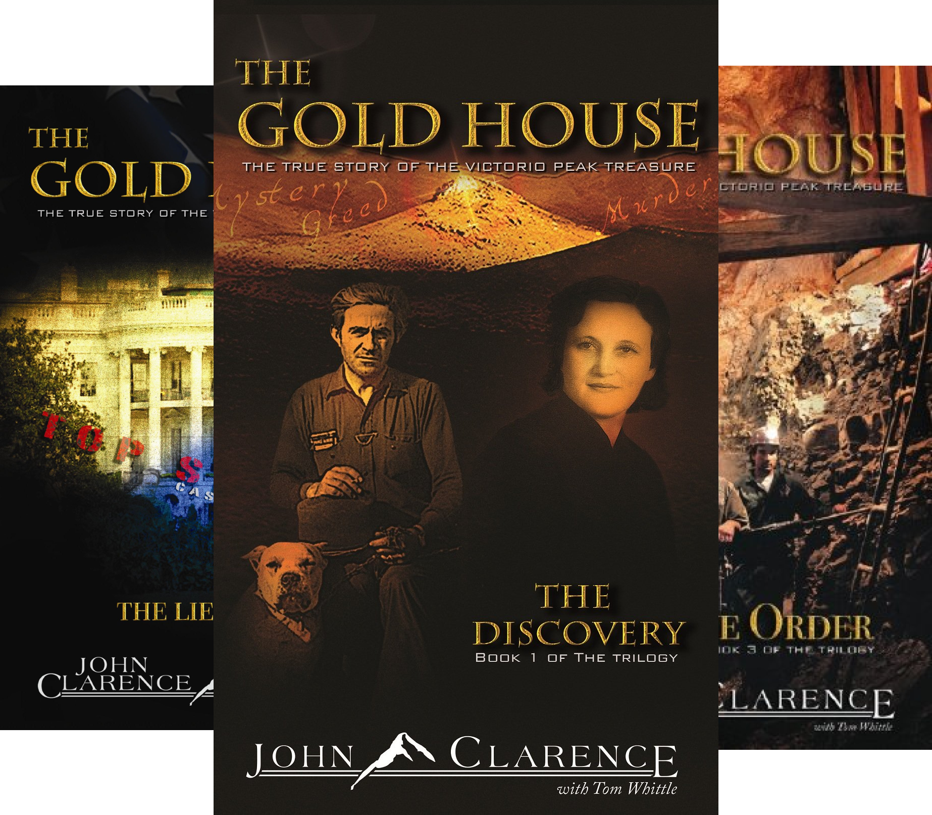 The Gold House (3 Book Series)