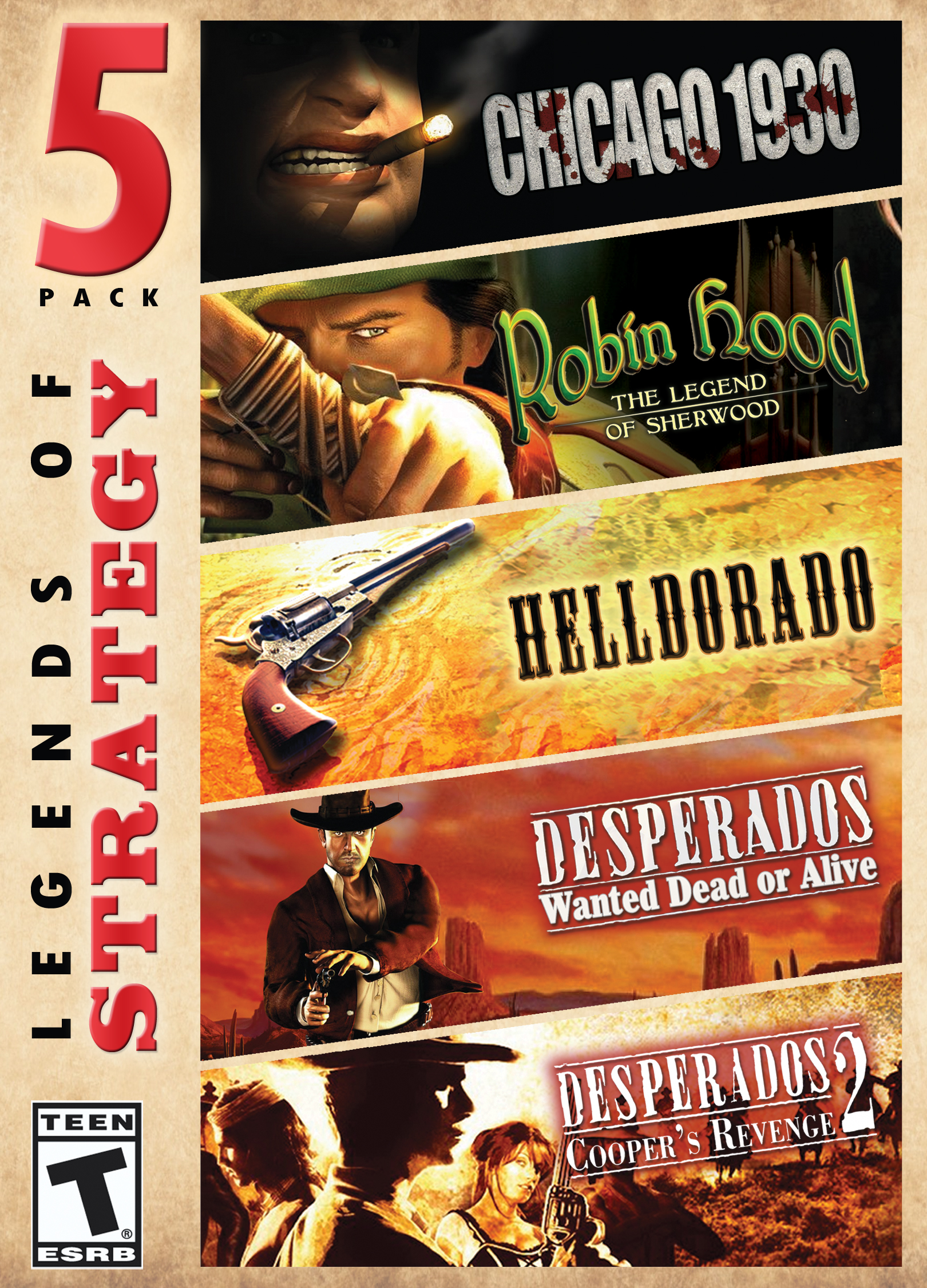 Legends of Strategy - 5 Pack [Download] (Red Dead Game Of The Year Edition)