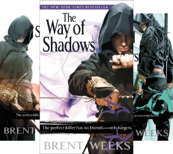 Night Angel (3 Book Series) by Brent Weeks