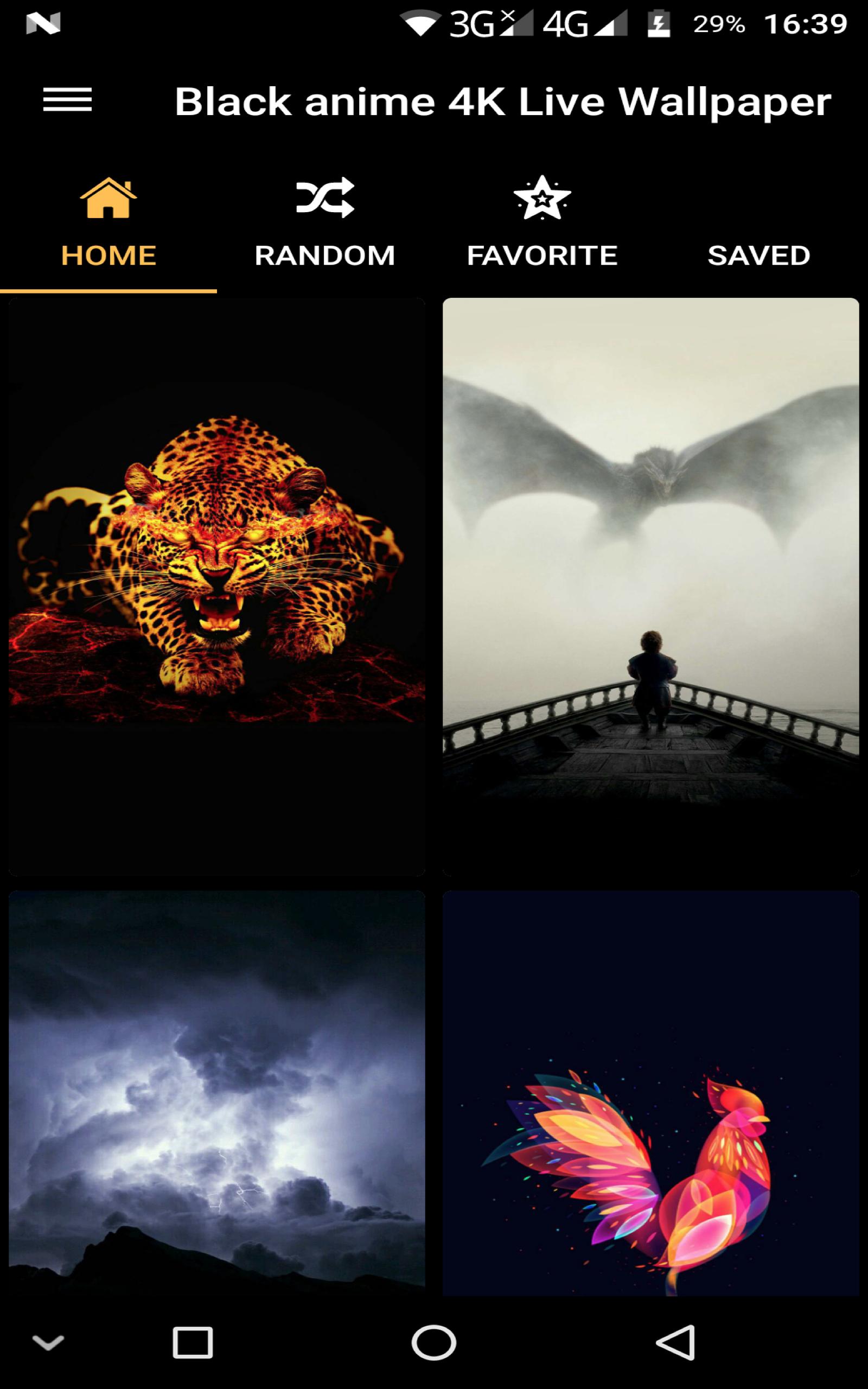 Amazon.com: Black live Wallpaper - 4K Dark & AMOLED ...