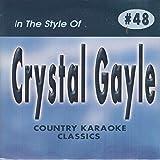 CRYSTAL GAYLE Country Karaoke Classics CDG Music CD