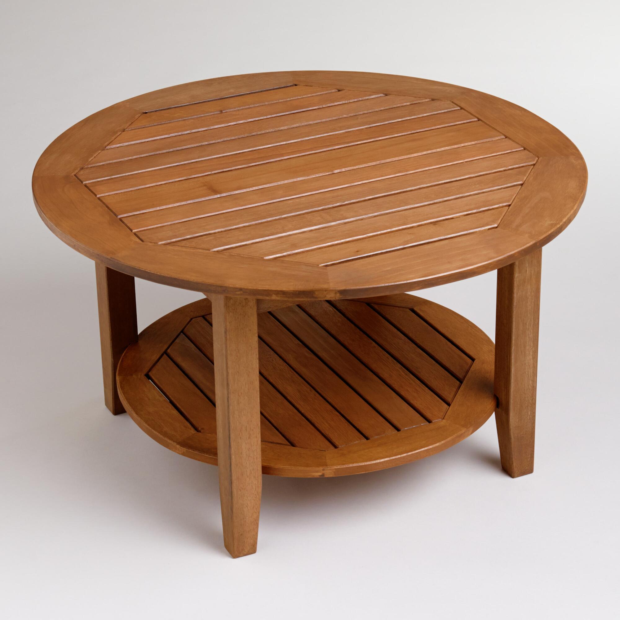 Wood St Martin Coffee Table | World Market