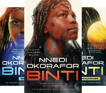 Binti: The Complete Trilogy by Nnedi Okorafor science fiction and fantasy book and audiobook reviews