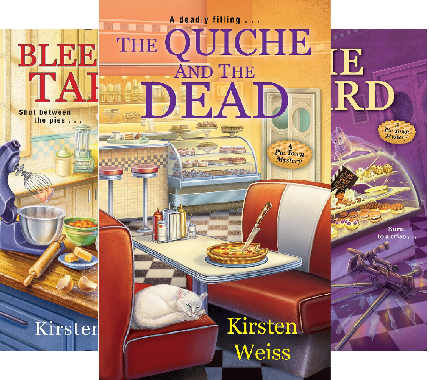 A Pie Town Mystery (3 Book Series)