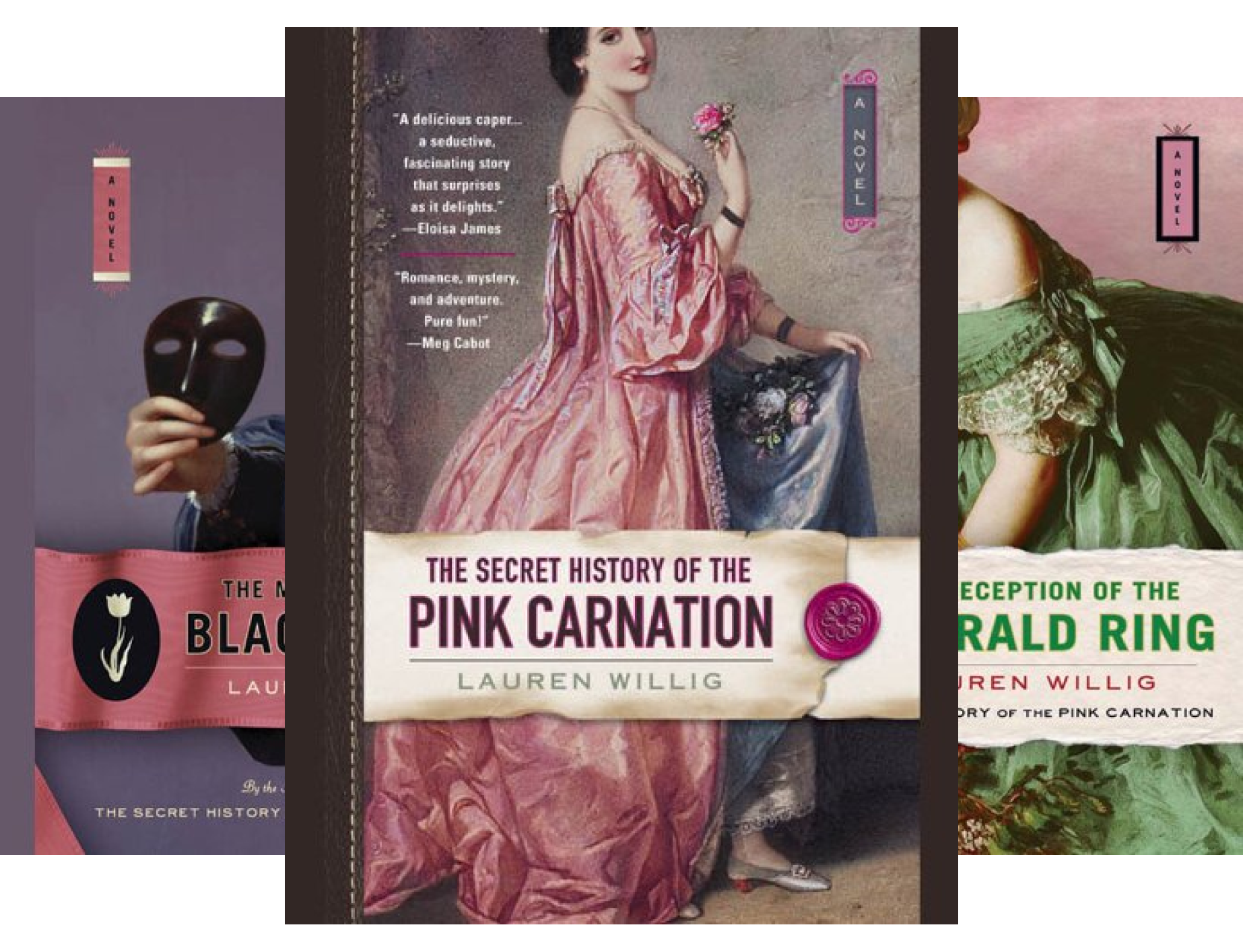 Pink Carnation series (12 Book Series) (India Carnation)