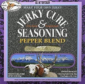 Hi Mountain Jerky Seasoning – Pepper Blend – 7.2 Ounces