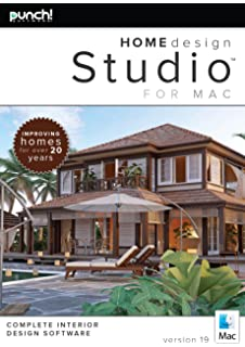 Amazoncom Punch Home Design Studio Complete for Mac v19