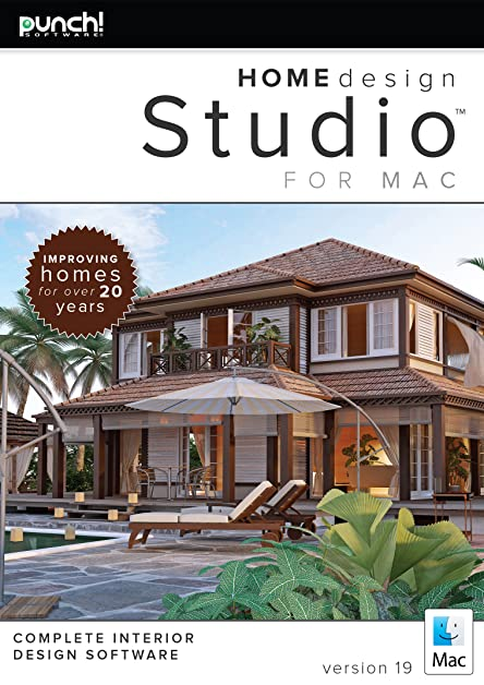 Amazon.com: Punch! Home Design Studio for Mac v19 [Download]: Software