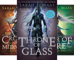 Throne Of Glass Series (6 Book Series) by  Sarah J. Maas