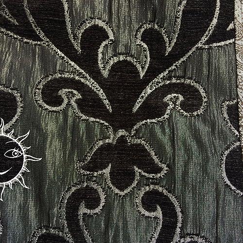 9d858ee1c6 BORSE SOLELUNA - grande borsa a tracolla di stoffa fantasia e velluto - pezzo  unico fatto a mano: Amazon.it: Handmade