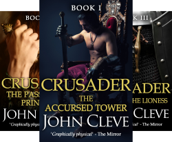 The Crusader (3 Book Series) by  John Cleve
