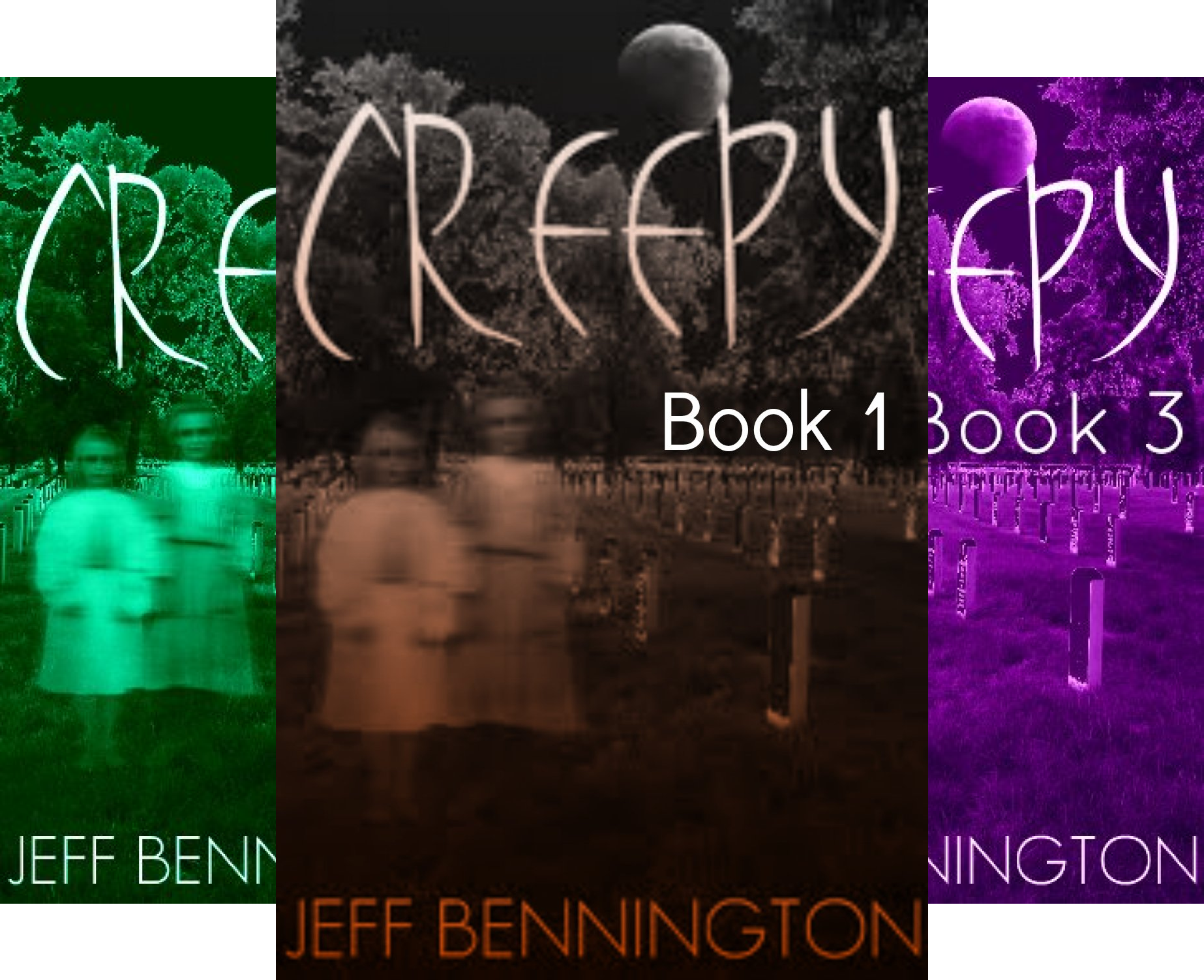 Book cover from Creepy Series (3 Book Series) by Jeff Bennington