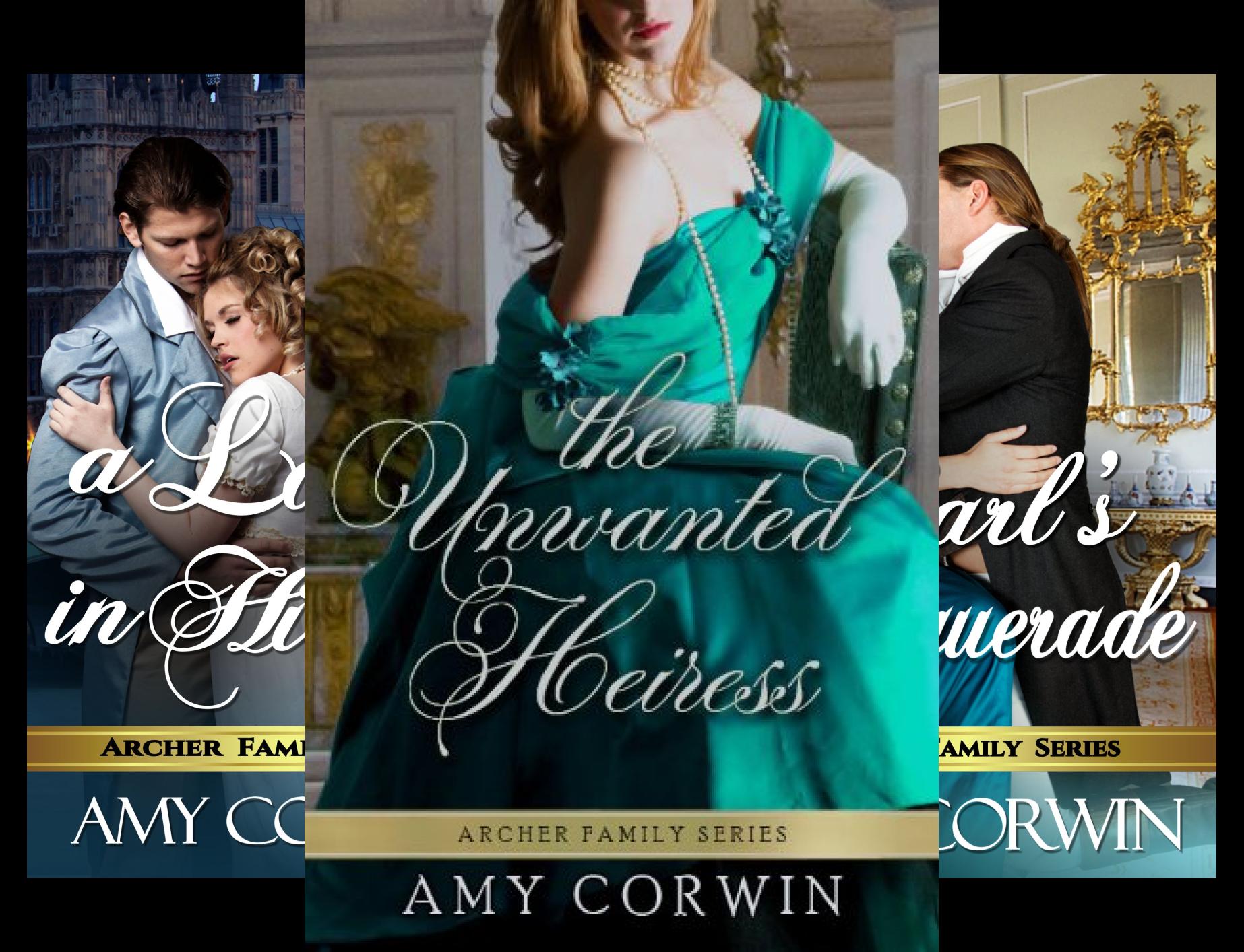 The Archer Family Regency Romances (7 Book Series)