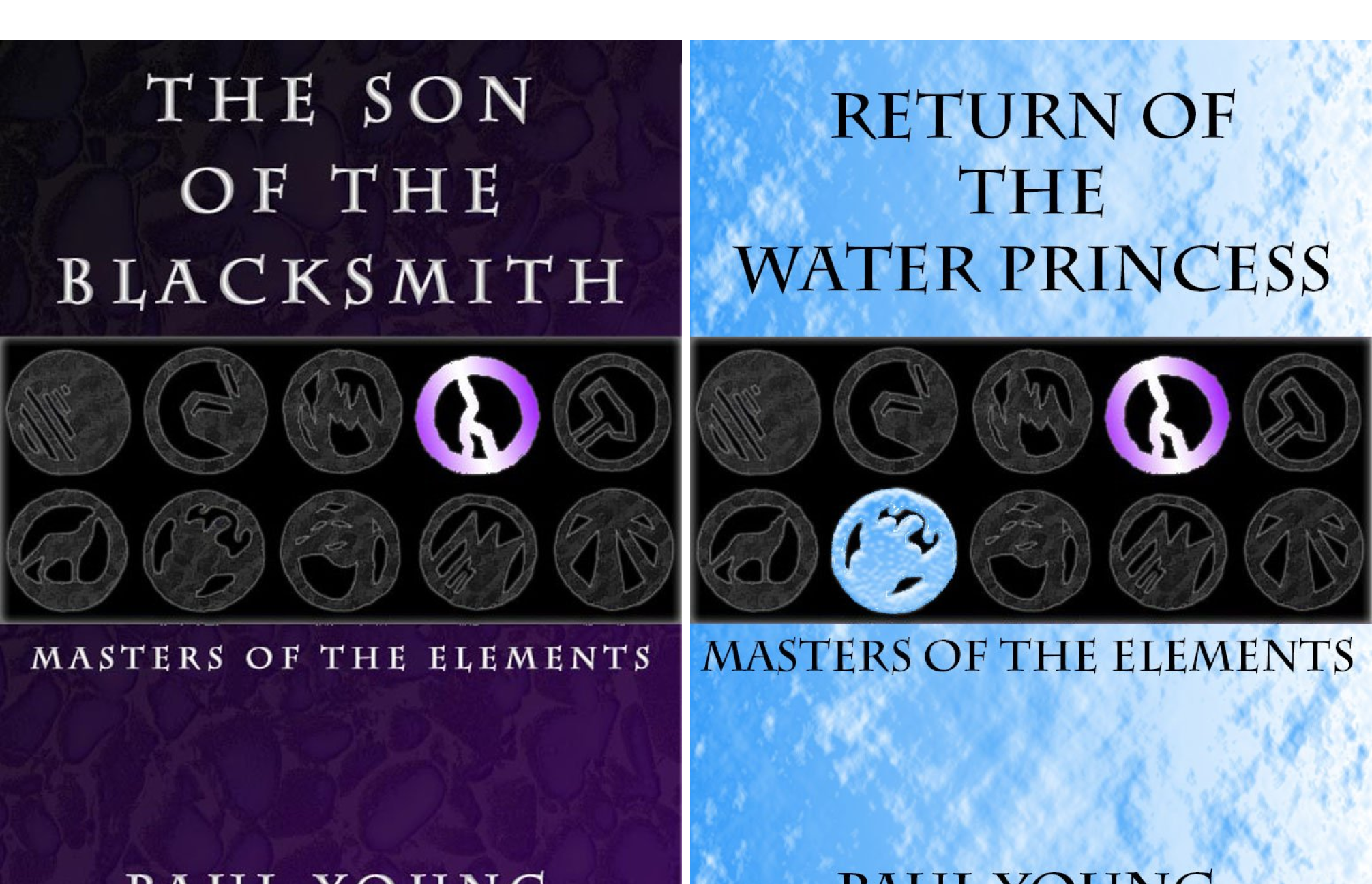 Masters of the Elements (2 Book Series)