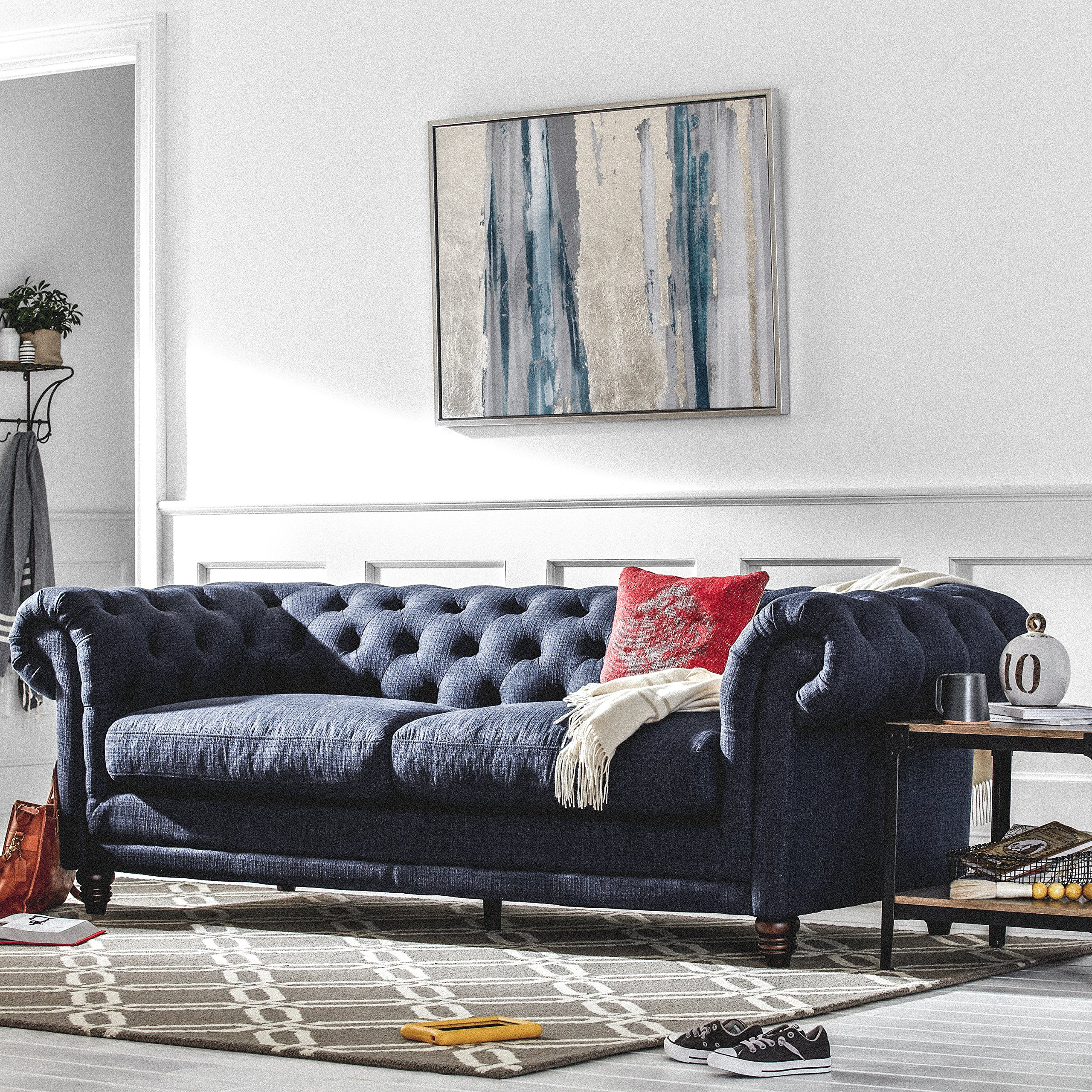 Let Us Start With This Classic Living Room Masterpiece. The Chesterfield  Sofa Has Been Among The Choicest Furniture Collections In Royal Households  Of ...