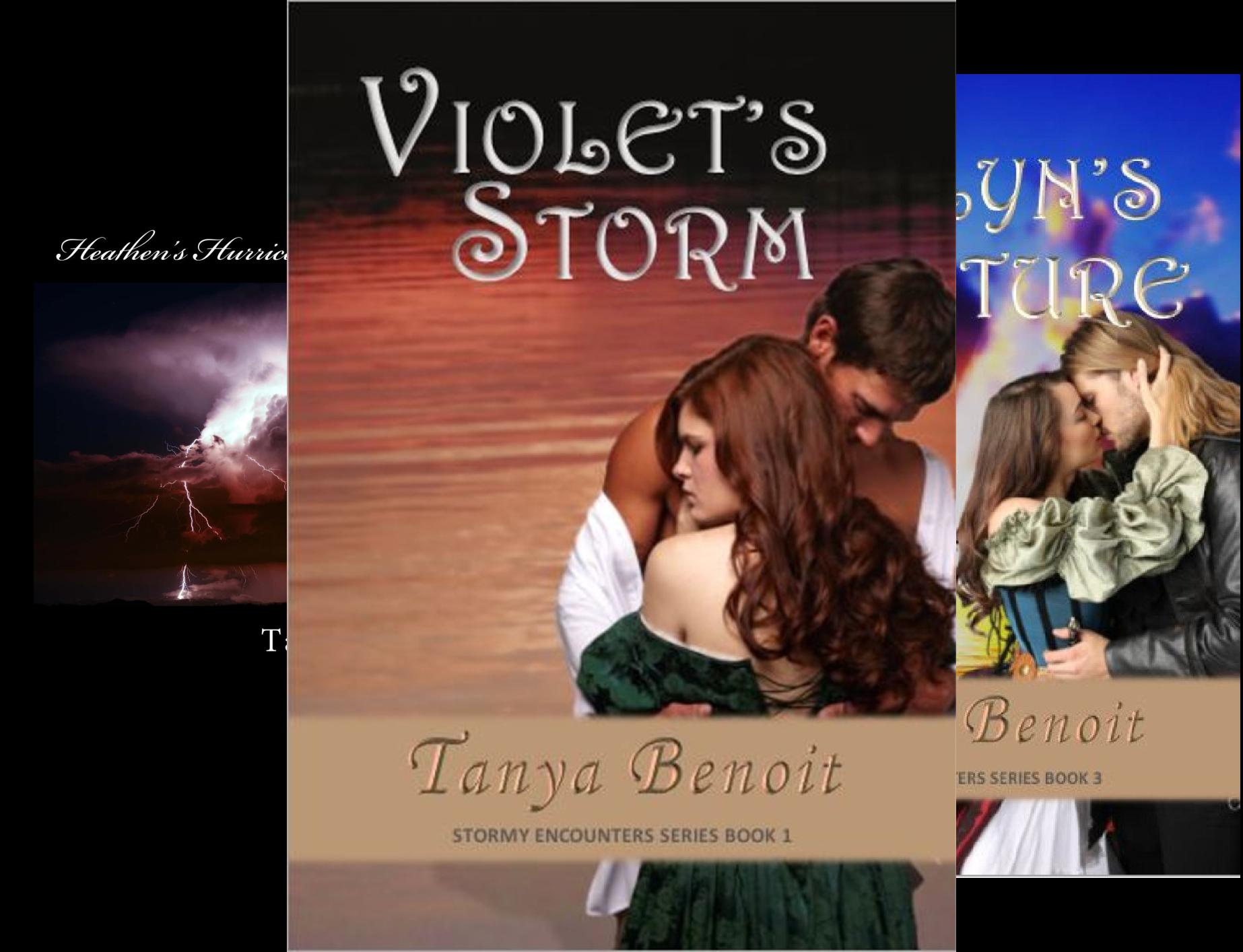 Stormy Encounters Series (3 Book Series)