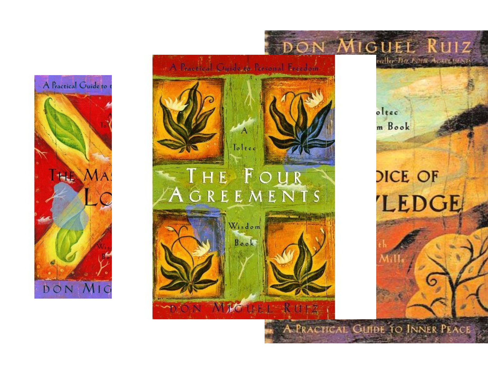 The Four Agreements Toltec Wisdom Collection: 3-Book Boxed Set (3 Book Series)