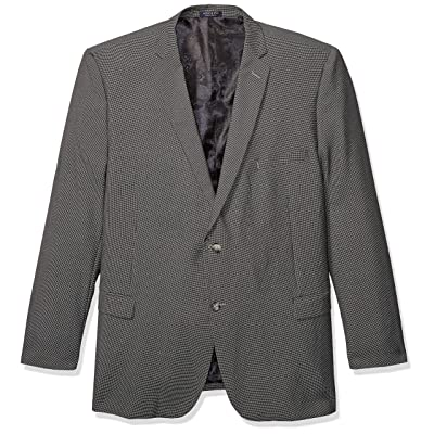 Adolfo Men's Big and Tall Modern Fit Sport Coat: Clothing