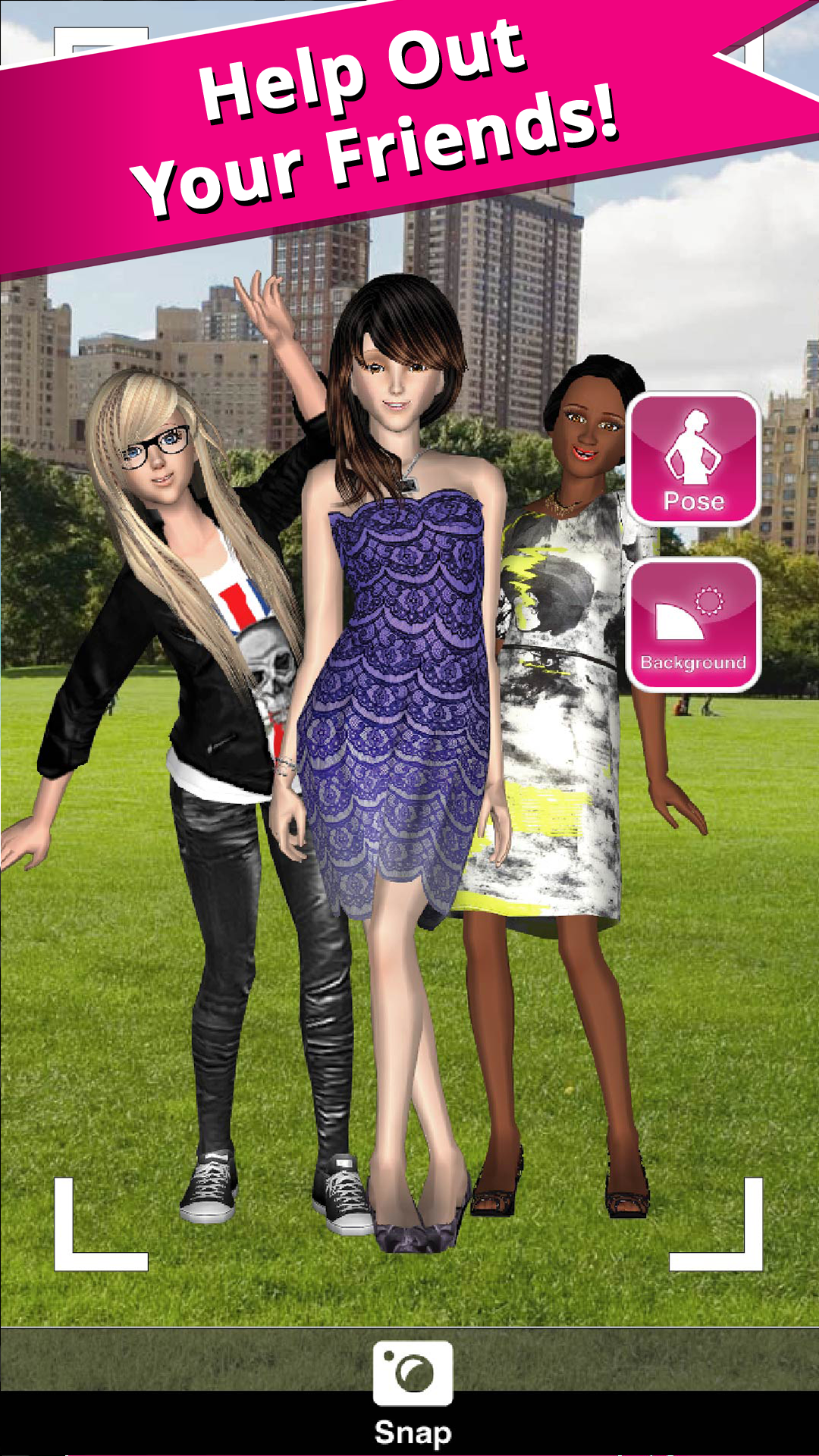 Style Me Girl Free 3d Fashion Dressup Amazon Appstore