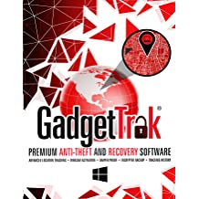 GadgetTrak Laptop Security 1-Year 1-PC [Download]