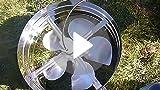 Amazon Com Rand Solar Powered Attic Gable Fan 30 Watt