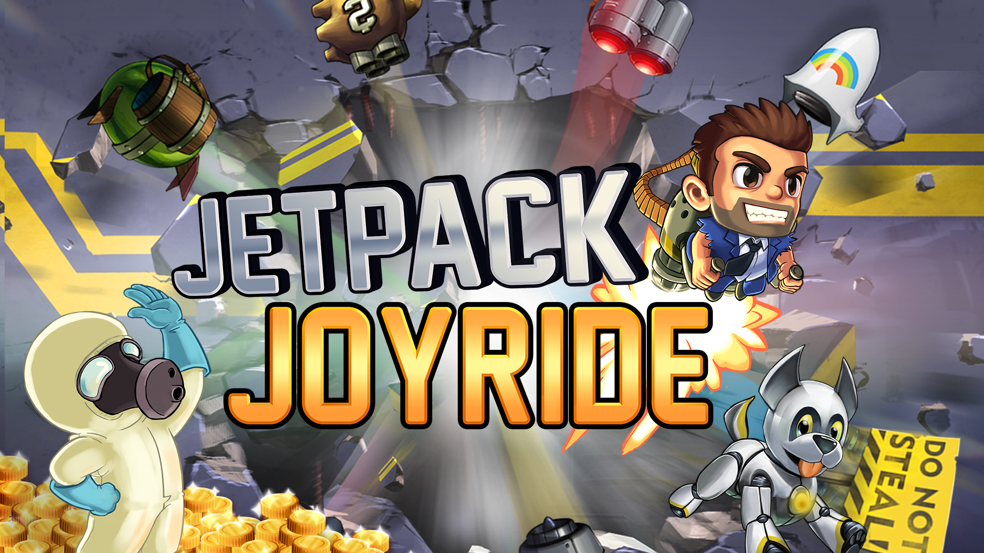 jetpack joyride without internet