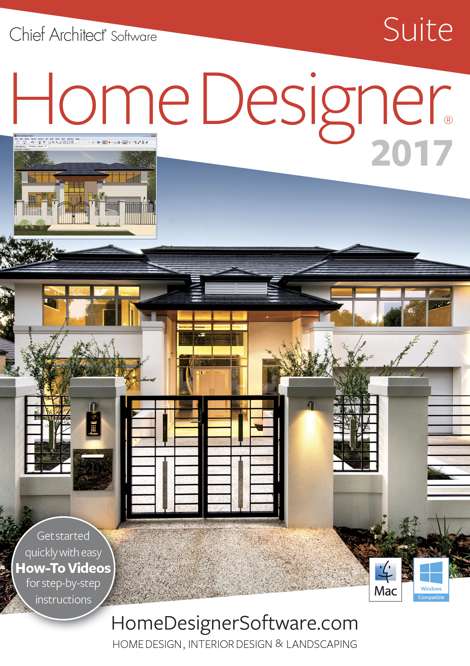 Amazon.com: Home Designer Suite 2017 [Mac]: on ashampoo home designer, architects residential building designer, chief architect home design software, chief architect interior designer 9.0,