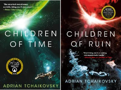 Children of Ruin by Adrian Tchaikovsky science fiction and fantasy book and audiobook reviews