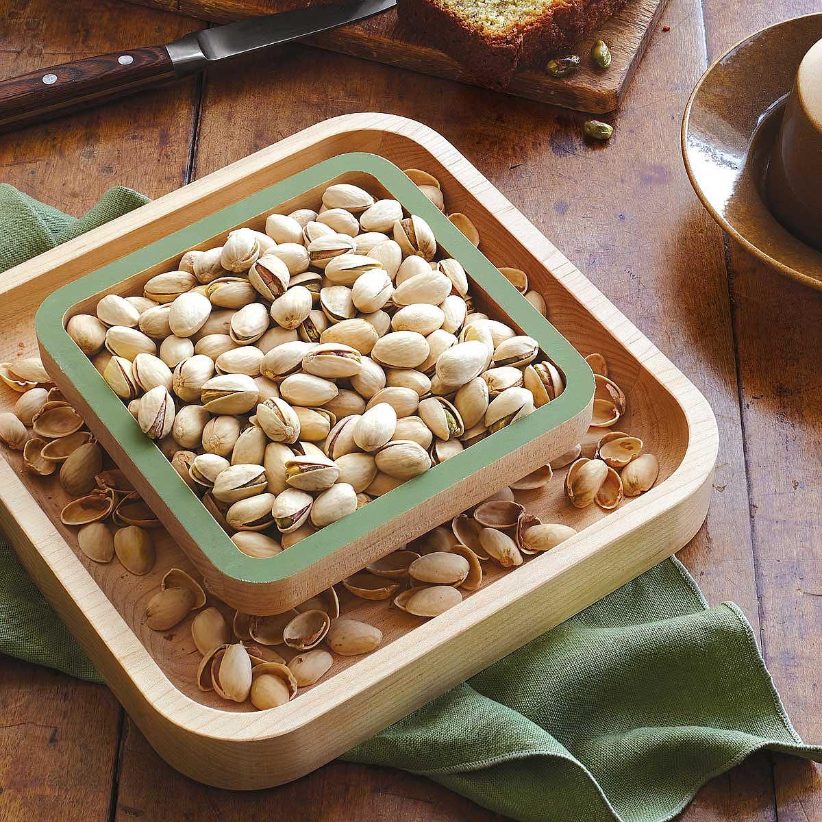 Pistachio Pedestal   nut dish   UncommonGoods