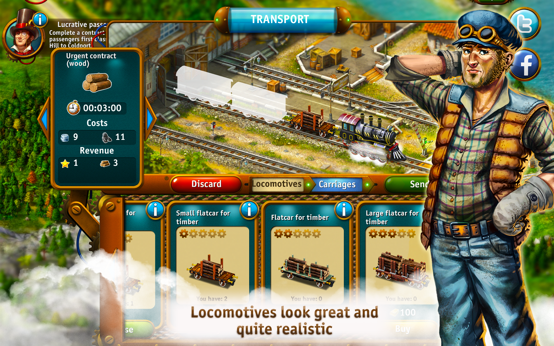 Transport Empire - Import It All
