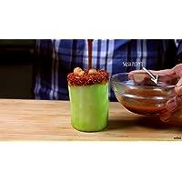 Cómo hacer vasitos enchilados de pepino con cacahuates japoneses