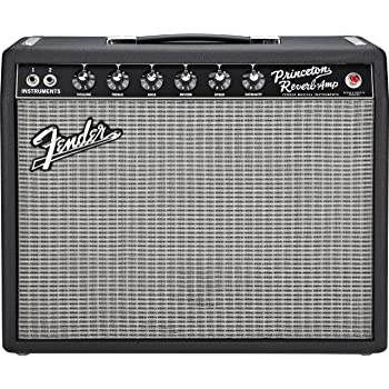 Fender 65 Princeton Reverb 15 Watt 1x10 Inch Guitar Combo Amp
