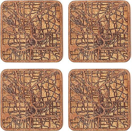 Handmade Set of 4 Coasters
