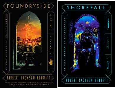 Shorefall by Robert Jackson Bennett science fiction and fantasy book and audiobook reviews